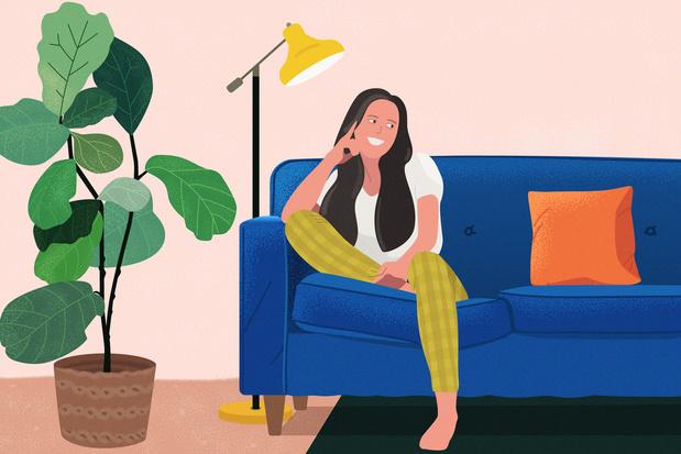 'Mijn coronabuddy behoedt me voor gesprekken met mijn planten'