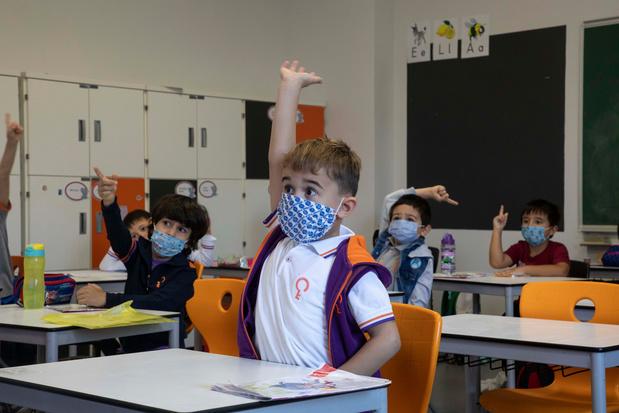 Steven Van Gucht: 'Leerlingen geven virus zelden door op school'