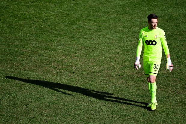 Fin de saison pour Laurent Henkinet, gardien réserviste du Standard