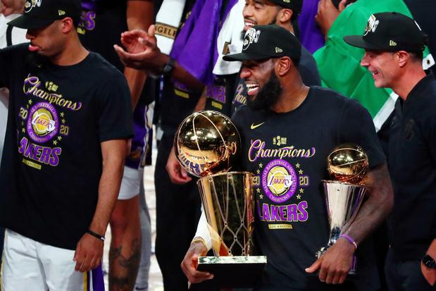 LA Lakers winnen zeventiende NBA-titel, LeBron James verkozen tot MVP van de finale