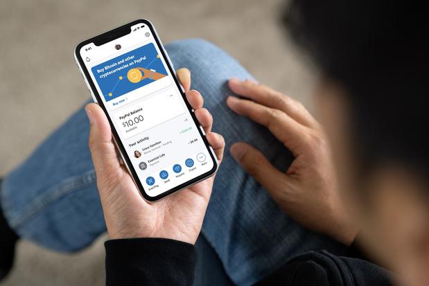 PayPal laat gebruikers in de VS in cryptovaluta handelen