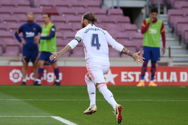 Le Real Madrid, avec Thibaut Courtois, remporte le Clasico et enfonce Barcelone