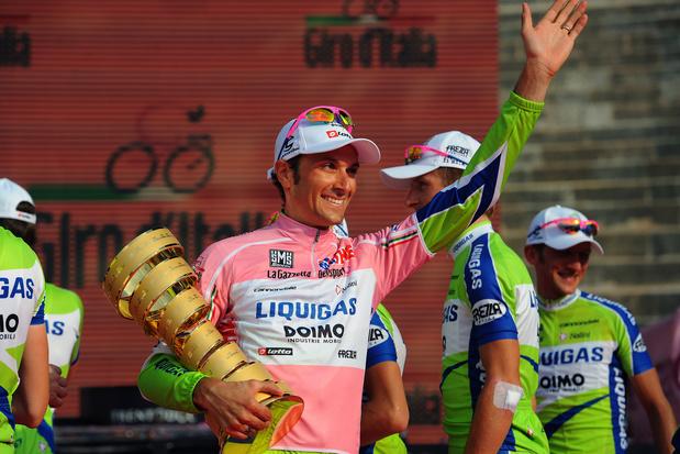 Flashback naar 30 mei 2010: Ivan 'de Verschrikkelijke' Basso wint voor de tweede keer de Giro