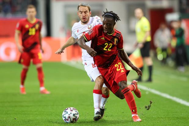 Jérémy Doku: 'Het is niet door geluk dat ik nu bij de Rode Duivels zit'