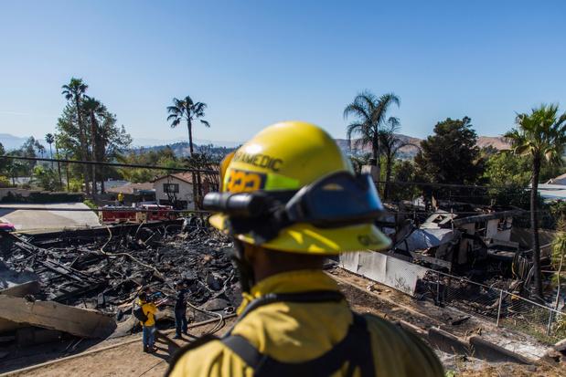 En Californie, des pompiers privés au service des plus fortunés