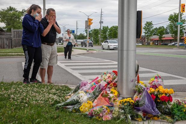"""Quatre membres d'une famille musulmane tués dans une attaque """"préméditée"""" au Canada"""