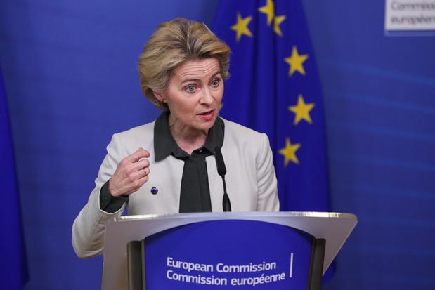 """Ursula von der Leyen: un brexit """"no deal"""" sur la future relation nuirait plus à Londres qu'à l'UE"""