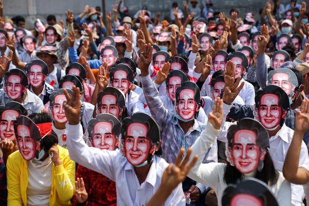 VN: minstens 18 doden bij nieuw protest in Myanmar