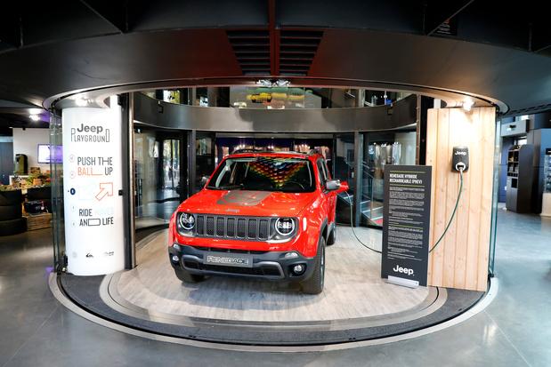 Jeep Renegade PHEV in avant-première in Parijs