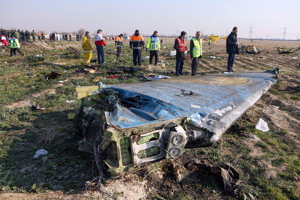 Vliegtuigcrash Teheran: Canadese onderzoekers krijgen toegang tot zwarte dozen