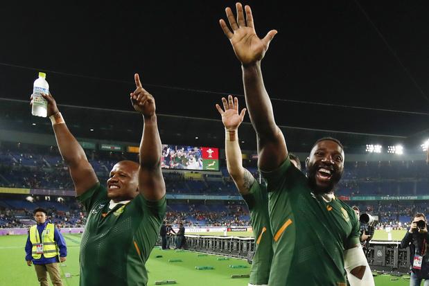 Zuid-Afrika en Engeland spelen de finale van het WK rugby