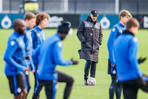 """""""Nous n'allons pas jouer pour prendre un point"""", assure Philippe Clement avant Bruges-Zenit"""