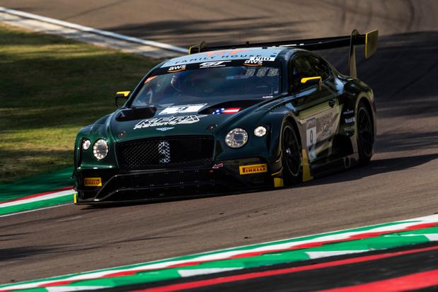 Les Bentley GT3 à Spa, après Indianapolis