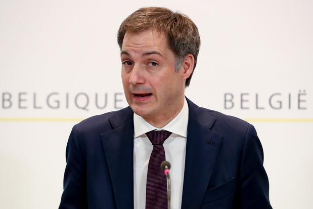 Covid: Alexander De Croo reste prudent sur les perspectives à court terme