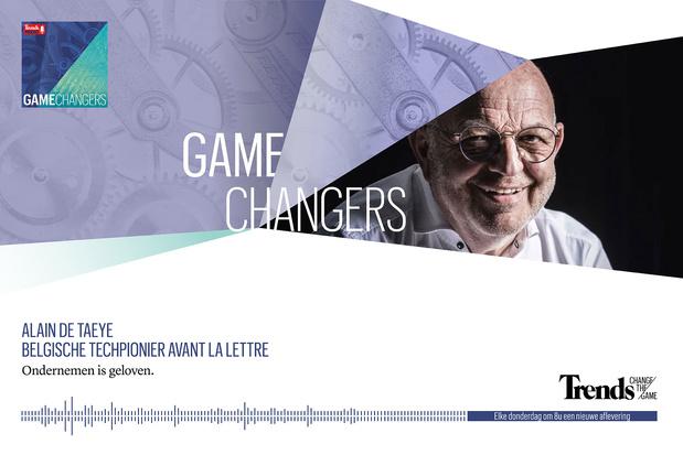 Trends Podcast met Alain De Taeye - Belgische techpionier avant la lettre
