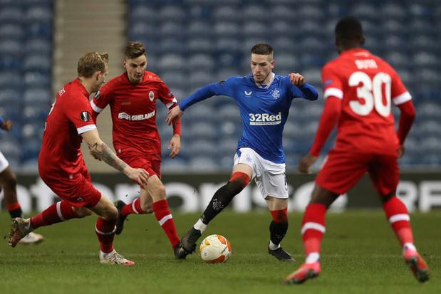 Europa League: Antwerp kansloos uigeschakeld door Rangers na 5-2-pandoering