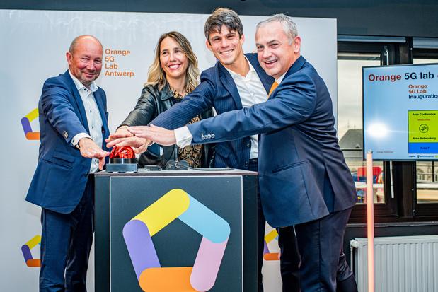 Orange ouvre un laboratoire 5G à Anvers