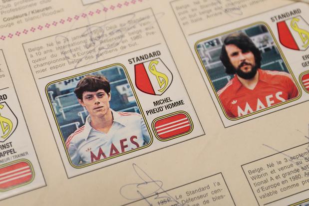 Panini va sortir un album spécial sur l'histoire du football belge
