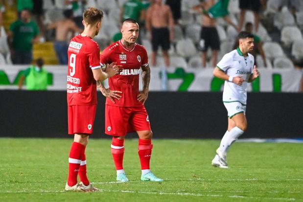 Tegenvallende avond voor Belgische clubs: Antwerp en KAA Gent verliezen, Anderlecht laat zege liggen in slot