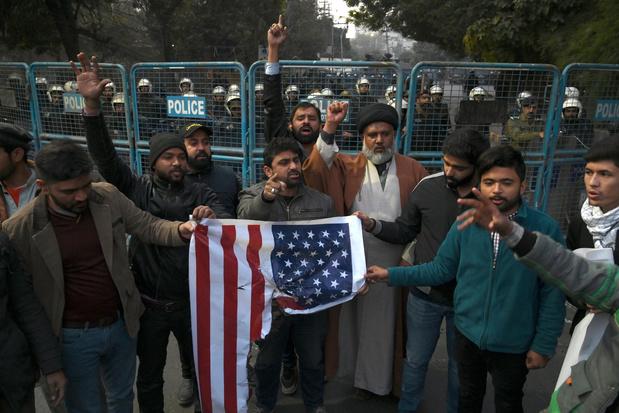 """Le raid américain est un """"acte de guerre"""" contre l'Iran qui appelle des représailles"""