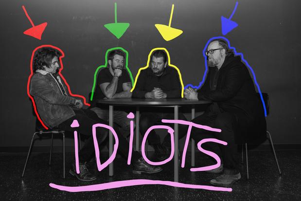 Première: Idiots bezingt de vrouwenliefde op nieuwe single 'Lipstick Glamgirl'