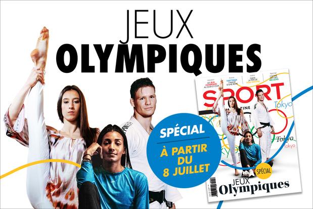 Ne ratez rien des Jeux Olympiques grâce à Sport/Foot Mag