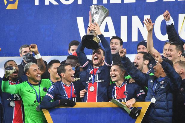 Le PSG remporte le Trophée des Champions pour la dixième fois