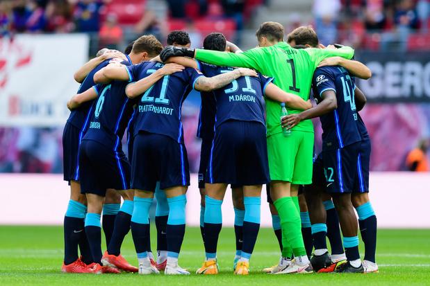 Hertha Berlijn laat niet-gevaccineerde spelers voortaan zelf betalen voor testen