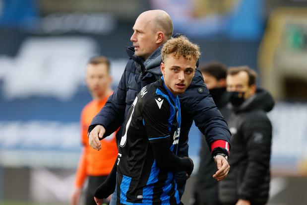 Club Brugge sluit 2020 af met 3-0 zege tegen Eupen, Vanaken krijgt rode kaart