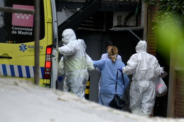 Coronavirus : après l'Italie, l'inquiétante propagation en Espagne