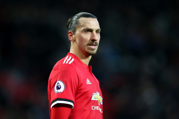 Zlatan Ibrahimovic, toen God in Manchester neerstreek
