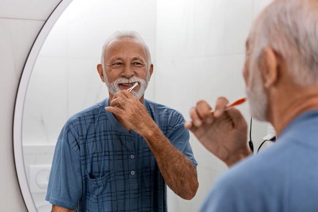 Regelmatig de tandenpoetsen is goed voor het hart