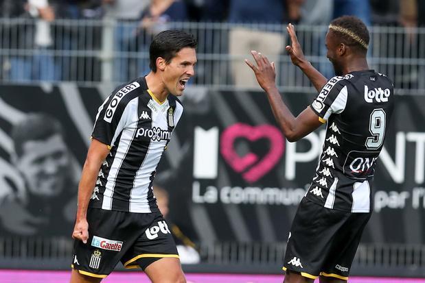 Première victoire de Charleroi, contre l'Antwerp qui perd le contact avec Bruges