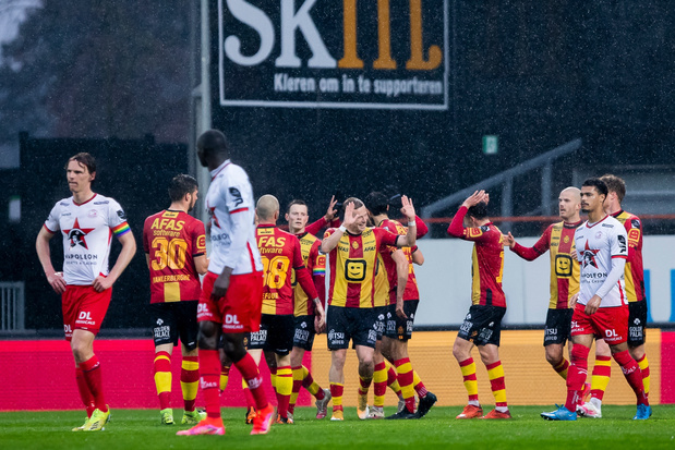 KV Mechelen houdt kansen op PO2 gaaf met winst tegen concurrent Zulte Waregem