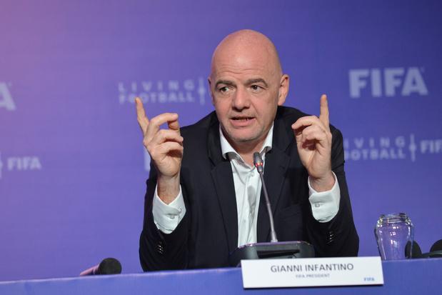 FIFA wil vijf wissels toestaan tot eind 2021