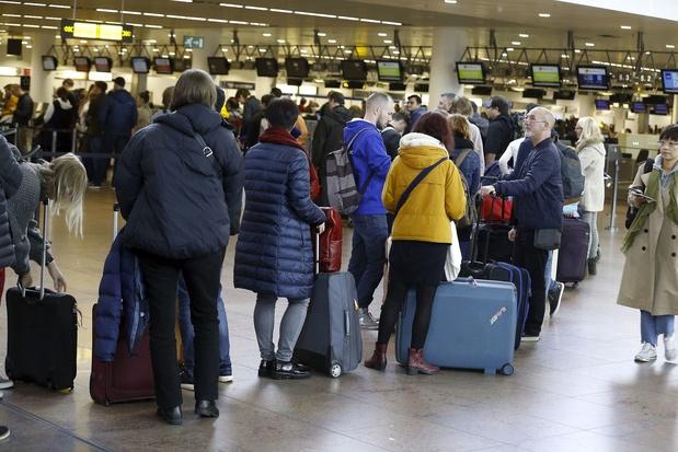 Panne informatique à Brussels Airport : une cinquantaine de vols ont subi des retards