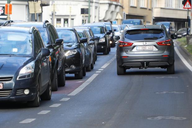 Coronavirus: le trafic routier en Wallonie à 75% de ce qu'il était avant le confinement