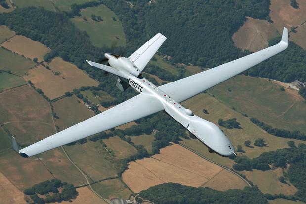 Pentagon bestelt vier MQ-9B SkyGuardian-drones voor België