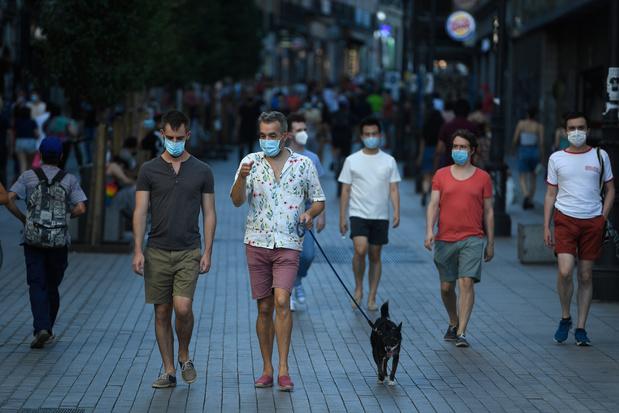 Le nombre de nouveaux cas de coronavirus ne cesse d'augmenter en Espagne