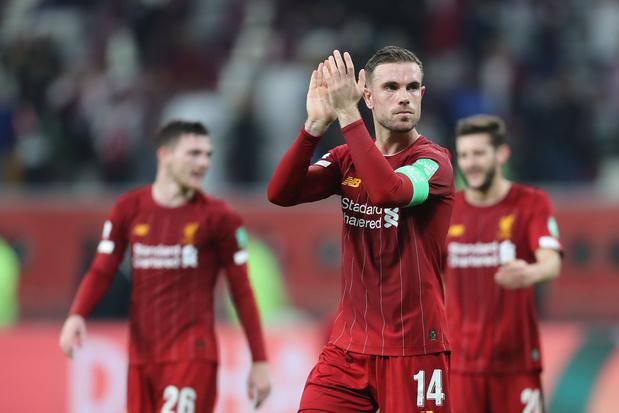 Liverpool vertrouwt op onbaatzuchtige Henderson