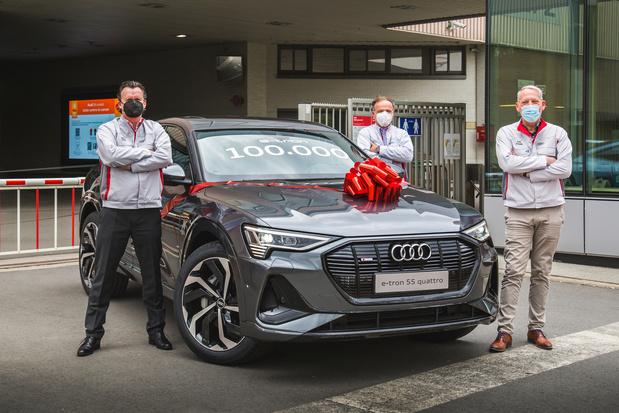 Audi Brussels bouwt 100.000ste e-tron
