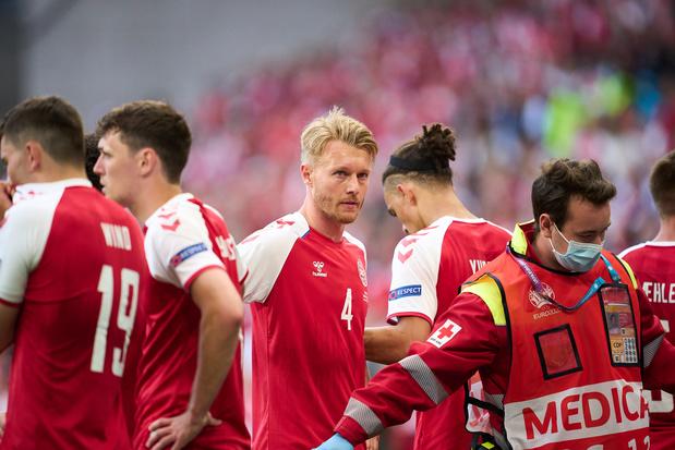 Na hartstilstand Eriksen: kapitein Kjaer en medisch team krijgen UEFA President's Award