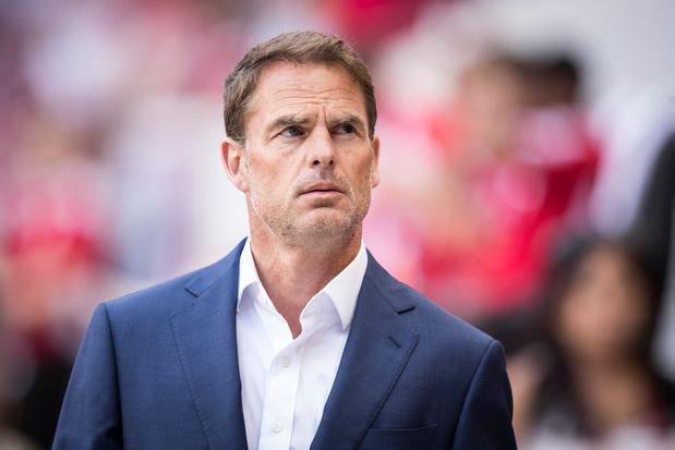 'Nederlandse voetbalbond praat met Frank De Boer over functie bondscoach Oranje'