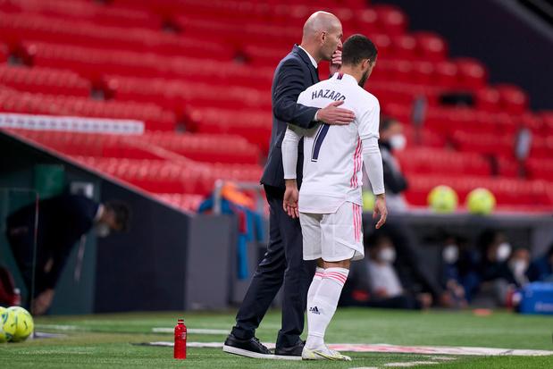 Eden Hazard mist titelmatch van Real Madrid: 'Hij heeft iets'