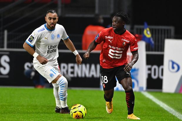 Premier assist pour Doku avec Rennes