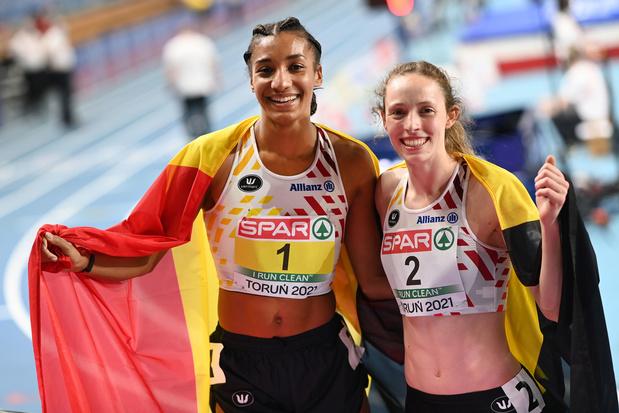 EK indoor: Nafi Thiam wint goud op vijfkamp, Noor Vidts behaalt zilver