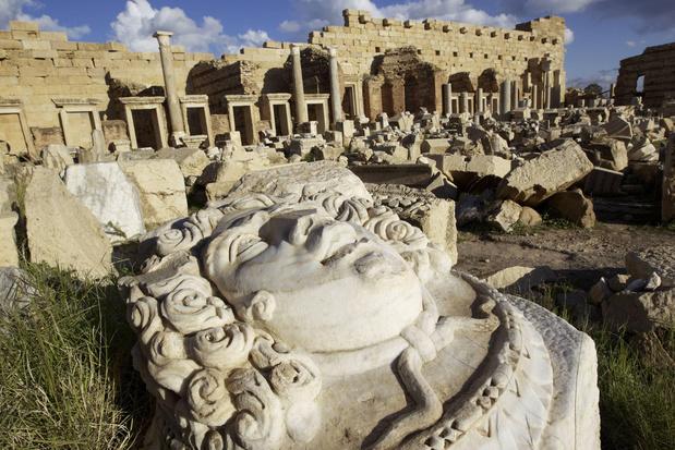 """En images: Leptis Magna, la """"Rome d'Afrique"""" oubliée"""