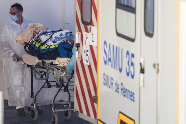Plus de 4.000 décès enregistrés à l'hôpital en France