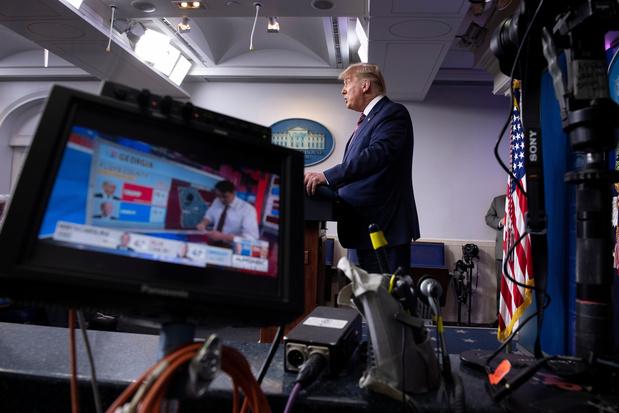 Sans aucune preuve, Trump crie à la triche
