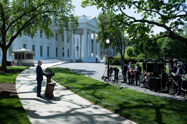 Joe Biden face au Congrès 100 jours après son arrivée au pouvoir